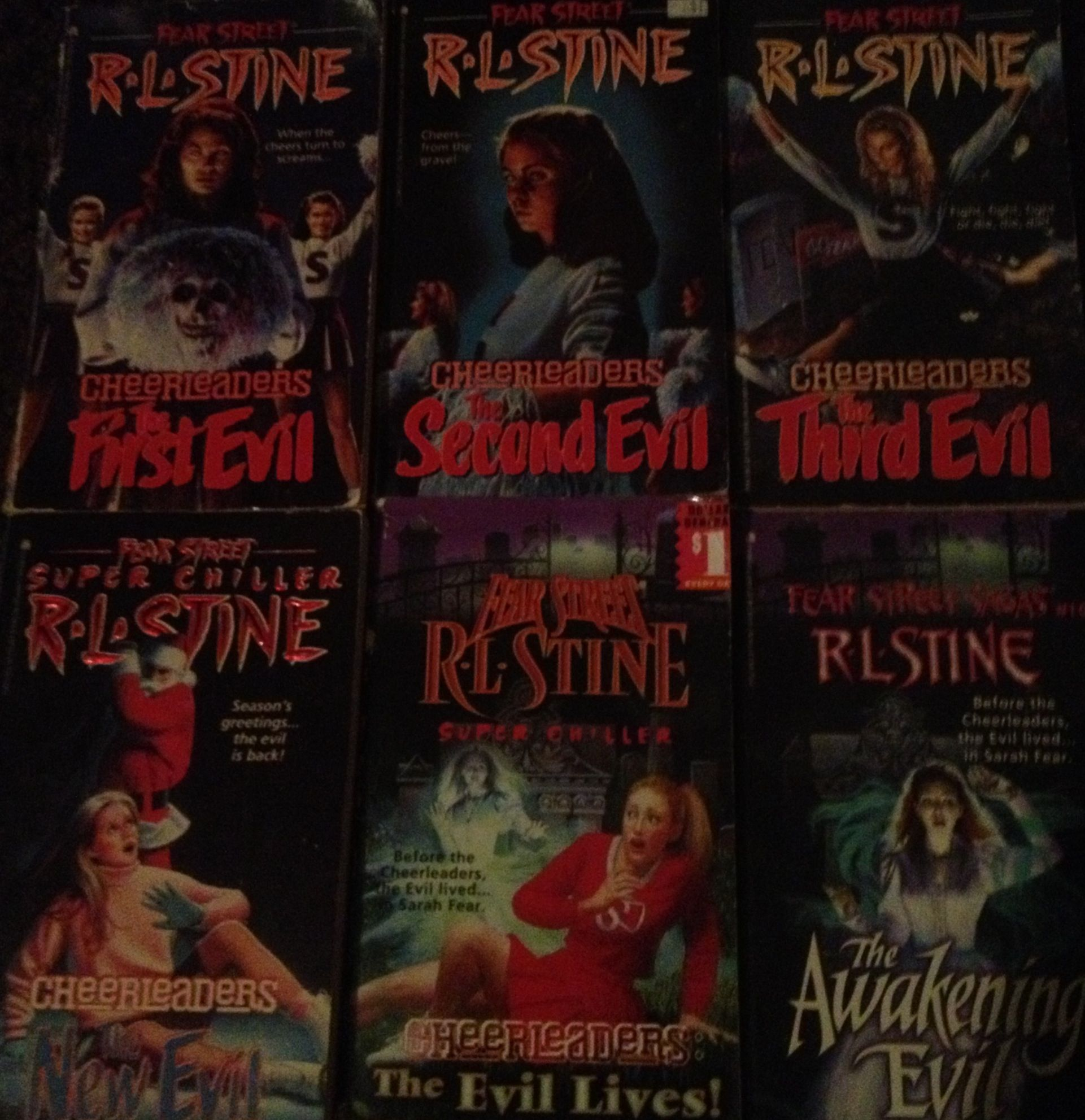 Whole Fear Street Cheerleaders Series : R.L. Stine | Fear Street ...