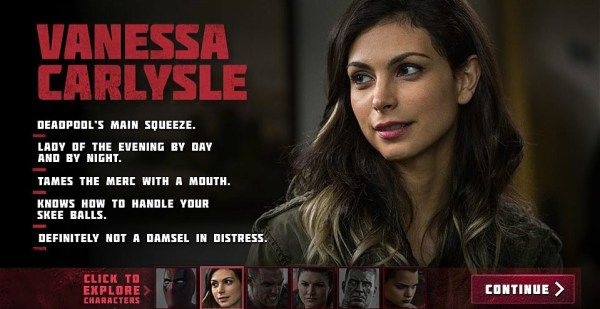 Who Plays Vanessa In Deadpool
