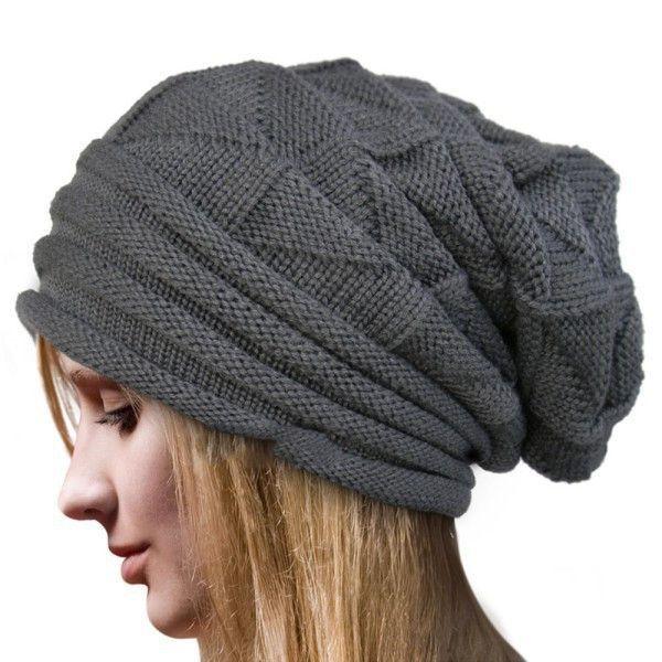 Baggy Knit Hats   Stricken   Pinterest   Mütze, Stricken und ...