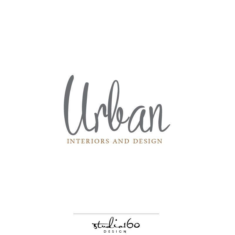 Custom Logo Design Urban Logo Interior Design Logo Modern Logo Awesome Interior Design Branding