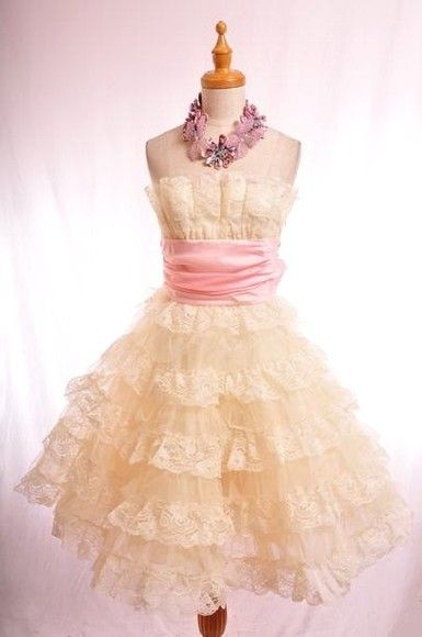 8aa25e63ae22 Betsey Johnson Tea Party Dress! I absolutely love this designer- her shoes,  dresses and jewelry are SO creative :-)