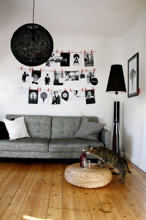 J'aime l'idée des photos pour notre chambre