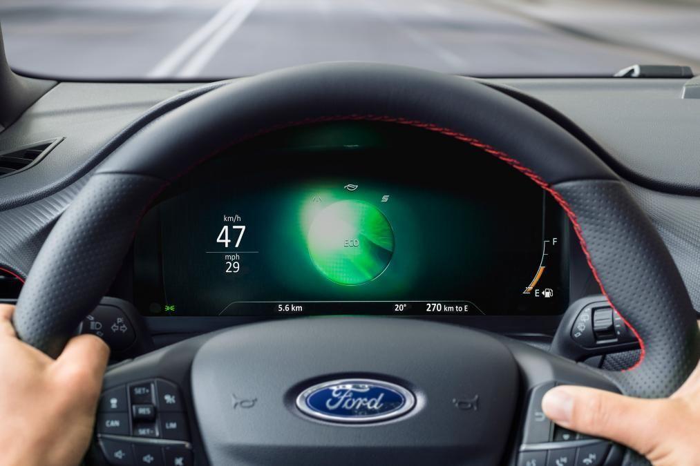 Ford Puma Dash Eco Carros
