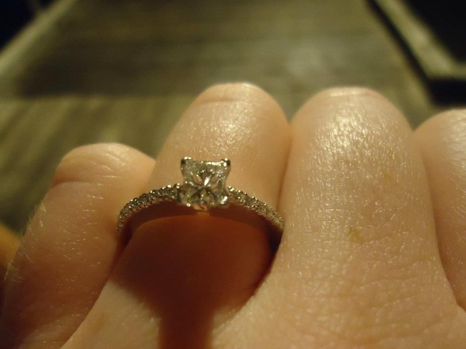 My beautiful engagement ring :)
