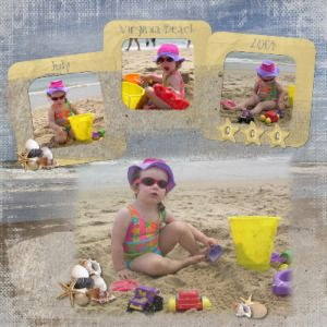 Image detail for -Beach Scrapbook Layout Ideas