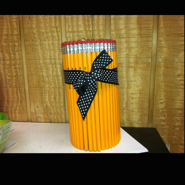 Pencil Holder made out of Pencils :)
