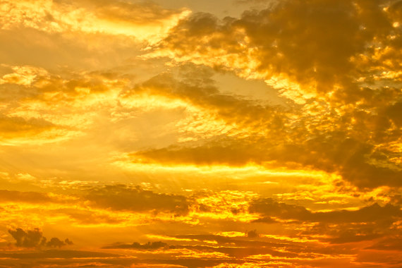 9f2050499aa Golden Sky photo Yellow Sky Digital Download Photography Clouds Sun Rays  photo dramatic sky picture