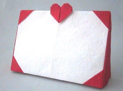 Origami Photo Frame | Fold and Cut | Pinterest | Origami, Craft and ...