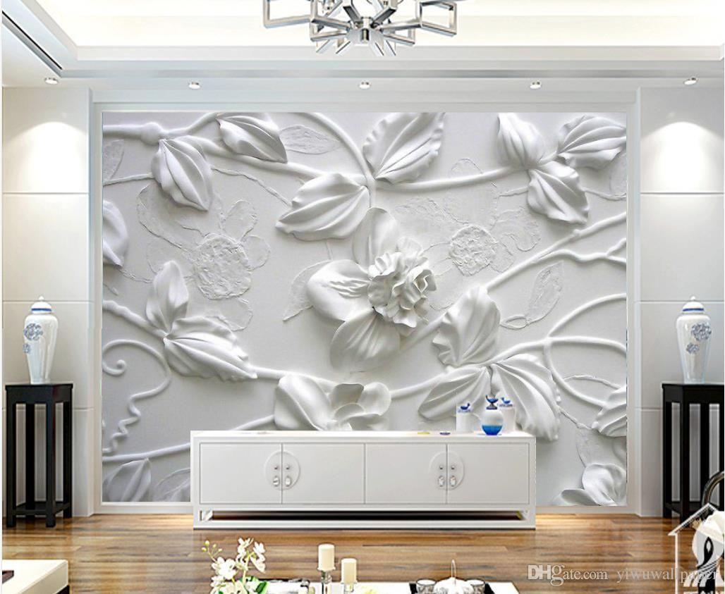 Gold Artistic Roses 3D Full Wall Mural Photo Wallpaper Printing Home Kids Decor