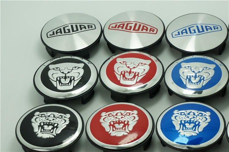 [DHL] Wholesale Price 200pcs/lot 58mm Jaguar Wheel Hub