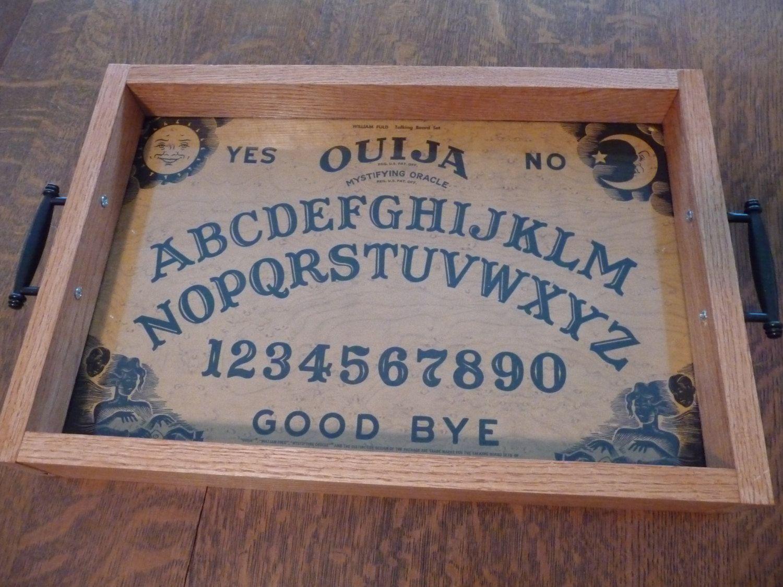 Ouija Board Coffee Table Ouija Board Serving Tray By Lampwerks On Etsy Https Wwwetsycom