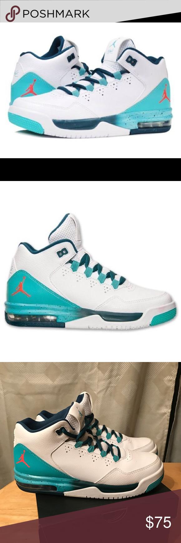 huge selection of 6f710 e6b77 Nike Jordan Flight Origin 2 BG Basketball Sz 7 7y Nike Jordan Flight Origin  2 BG