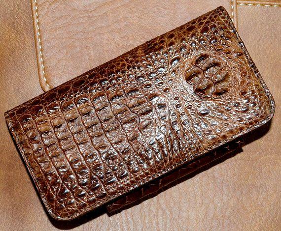 Bold & Sexy: 100% Genuine #Alligator #Leather #iPhone 5/5s Case by SobekAlligator
