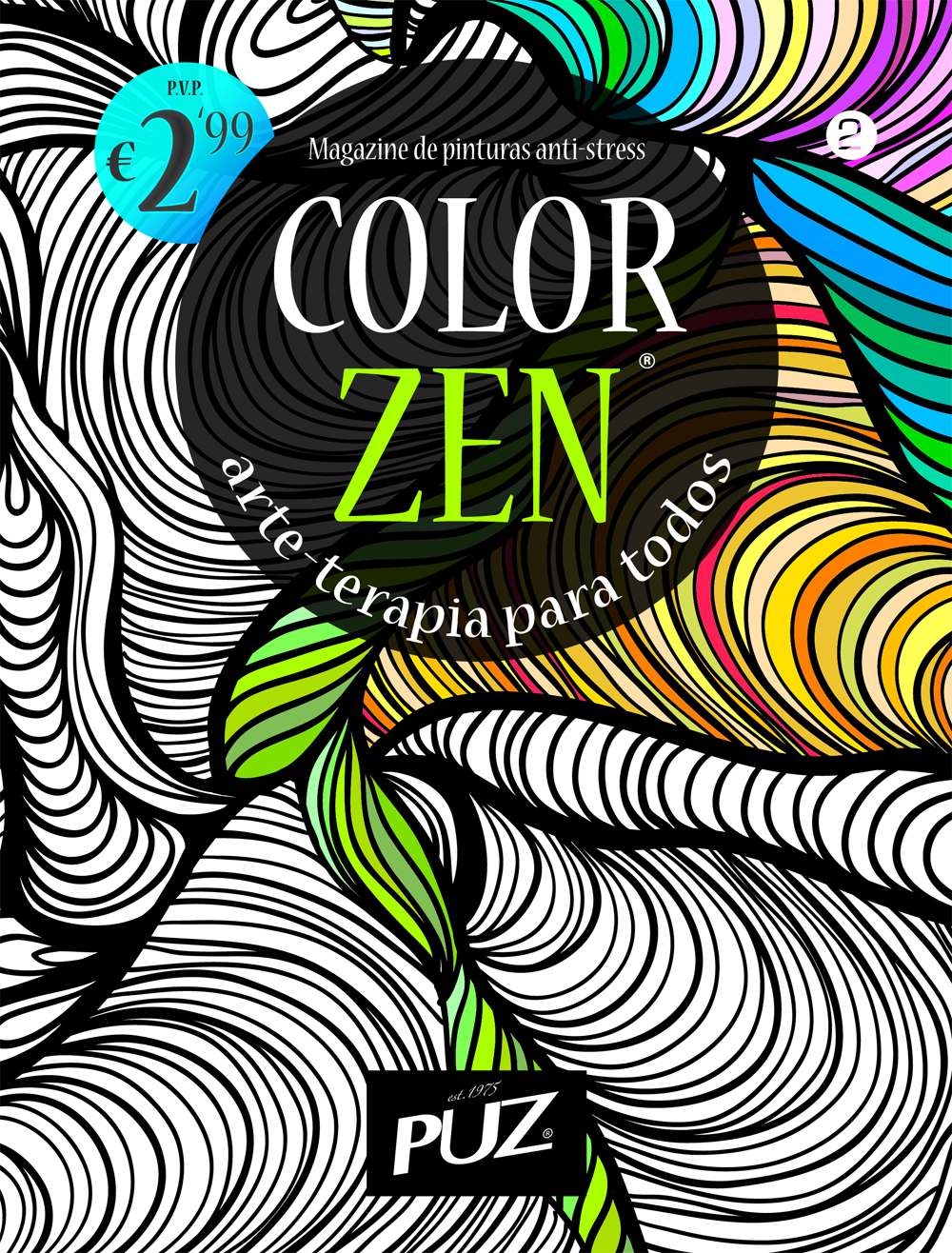 Color zen magazine - Color Zen Nr 2 Magazine De Pinturas Anti Stress Da Puz Arte