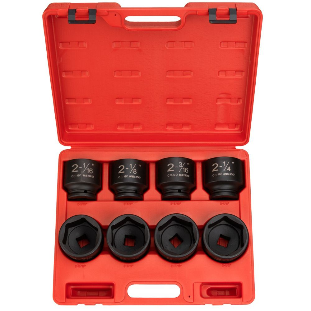 3//8-Inch Drive 6-Point SAE 5//16 to 3//4-Inch Capri Tools Shallow Impact Socket
