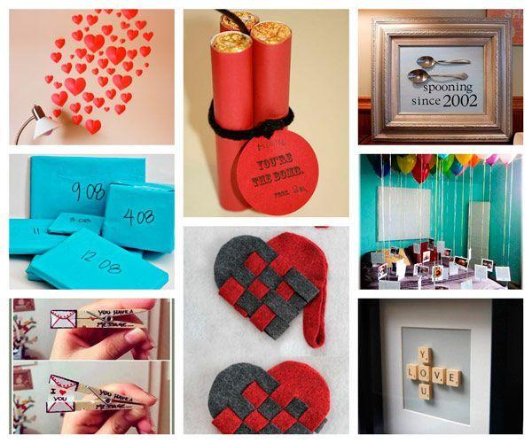 Regalos De San Valentin Para Mi Novio Manualidades.100 Manualidades Romanticas Y Para San Valentin
