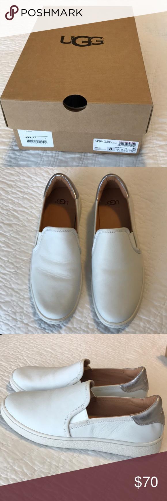 UGG Cas Slip-on white size 8 NWT | Uggs