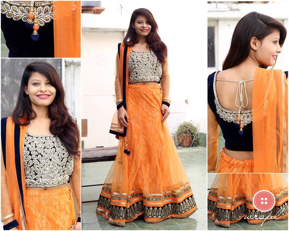 Wrapd is a one stop shop for renting lehenga, sherwani and
