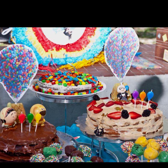 Up Disney Pixar Birthday Cake Up Birthday Party Pinterest
