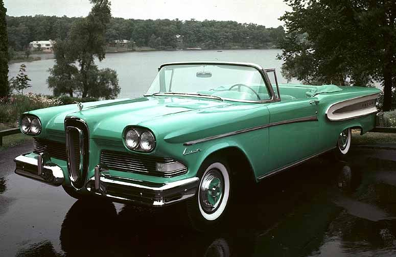 Old Classic Cars Ultimate Dream Rides Rhpinterest: 1958 Edsel Wiring Diagram At Gmaili.net