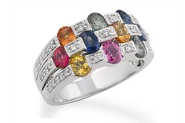 Multi Color Diamond Wedding Rings Fancy Color Diamond Ring Diamond Wedding Rings Wedding Rings