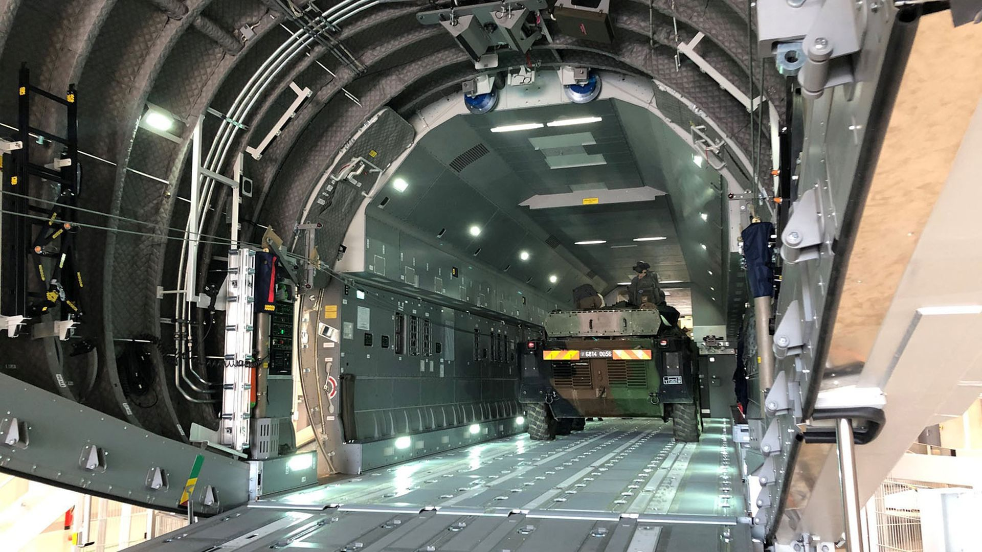 Rheinmetall to Supply Airbus A400M Cargo Hold Simulator