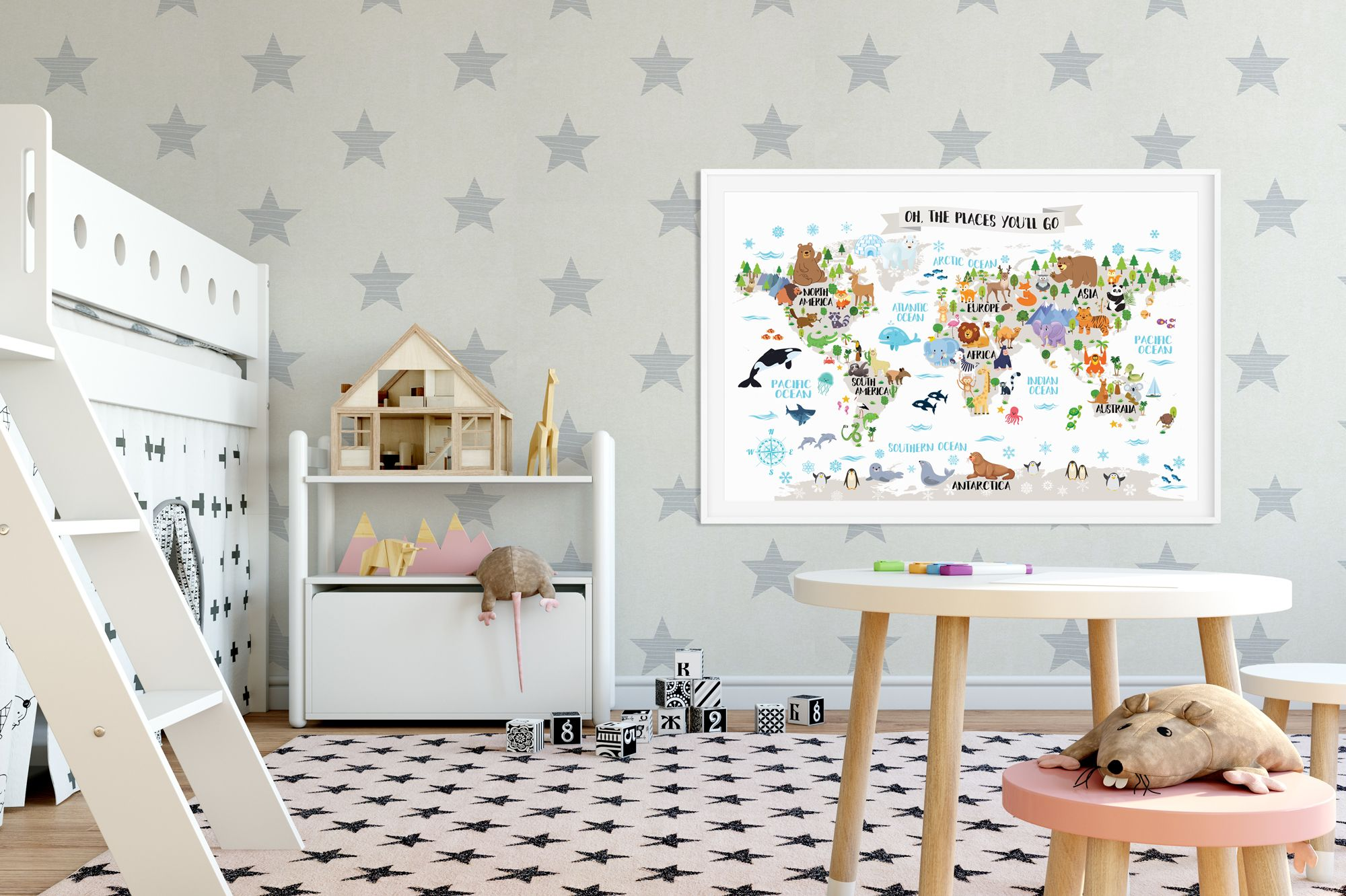 Kids world map poster Animal world map Playroom wall decor Kids room on keystone world map, large world map, hack world map, 2 color world map, auburn world map, pillars world map, bending world map, lafayette world map, dover world map, highlands world map, repositionable world map, weathered world map, angle world map, go to the world map, old world map, eden world map, johnson world map, girl world map, thompson world map, ridges world map,