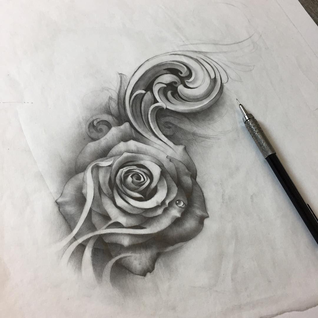 Novosti Swirl Tattoo Filigree Tattoo Rose Tattoo Design