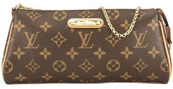 98384ffe6c525 Louis Vuitton Monogram Canvas Eva Clutch Bag
