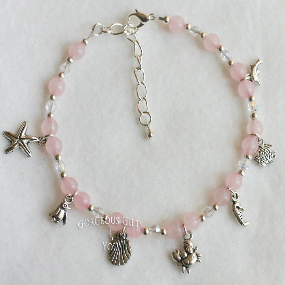 making tourmaline shop calypso company anklet starfish landing