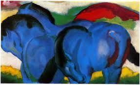 franz marc - Blue Horses