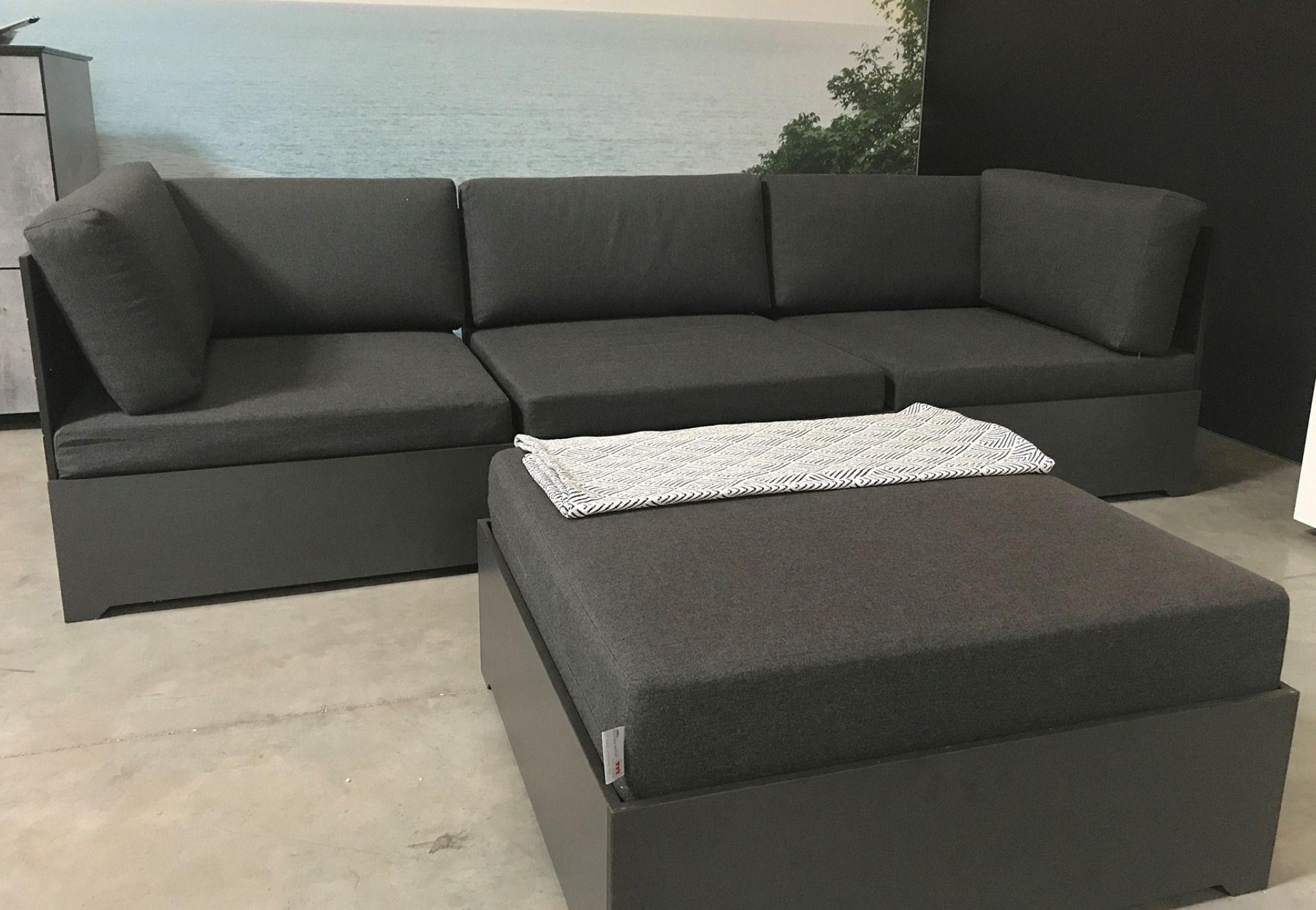 Gartenlounge In Anthrazit Lounge Lounge Mobel Gartensofa