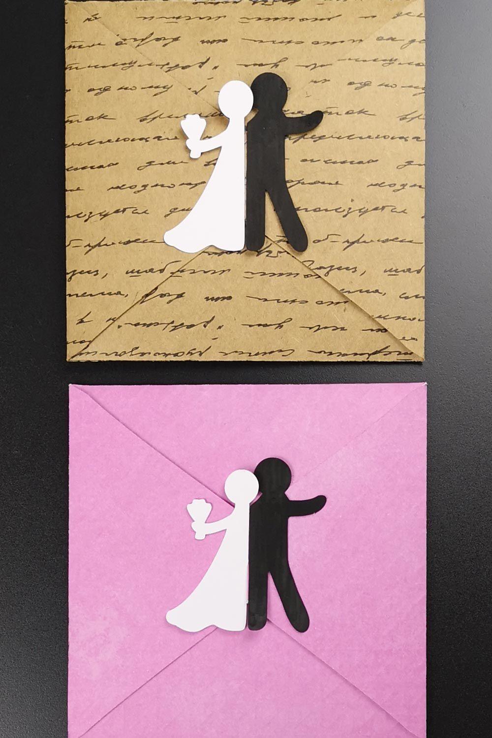 Bastelvorlage Plotterfreebie Fur Hochzeitskarte Mit Brautpaar