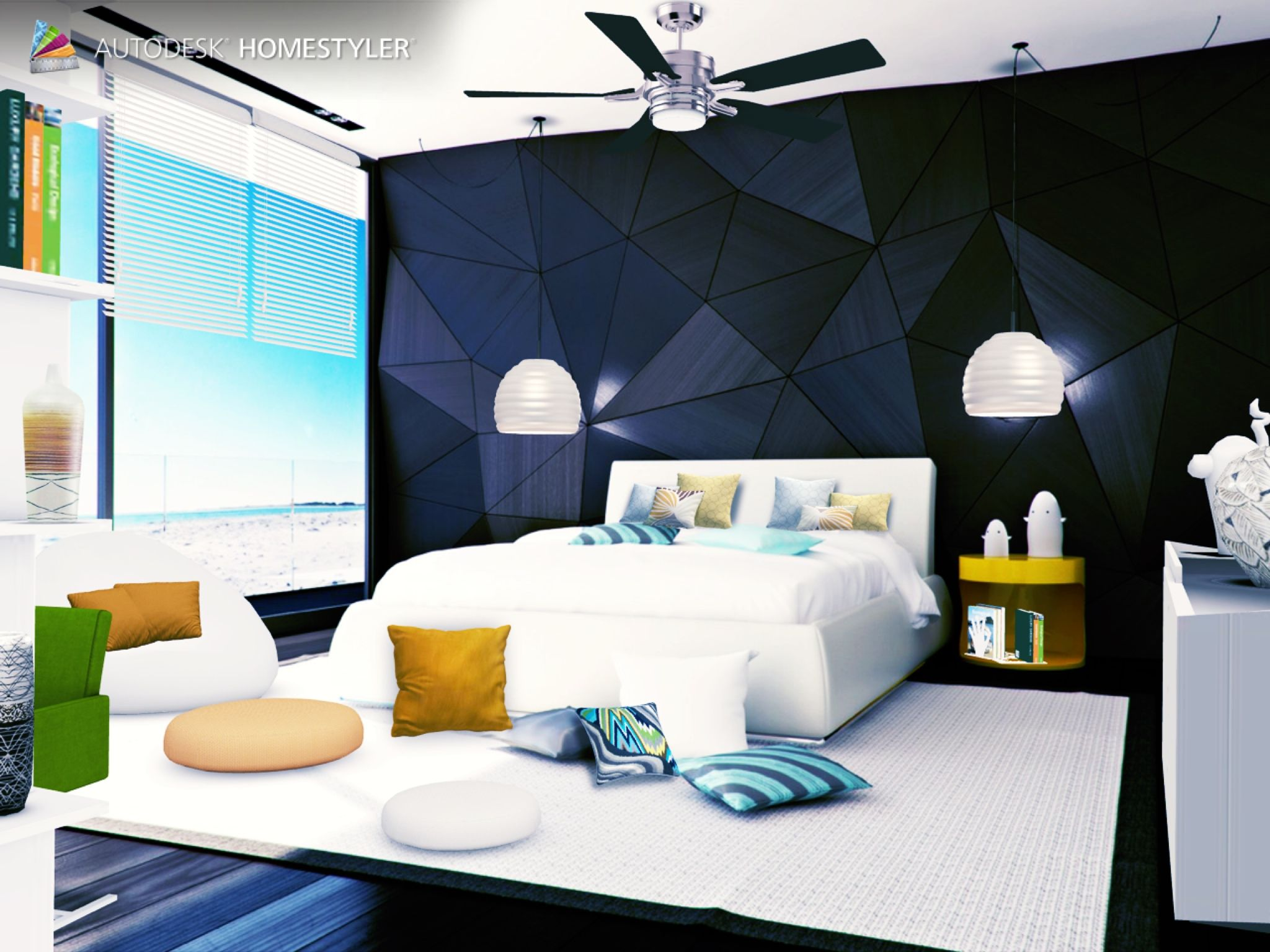 Ultra Modern Bedroom Design with Sea View | My 20 Best Bedroom ...
