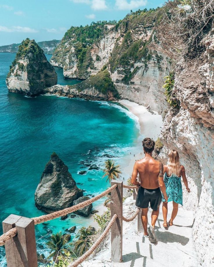 Nusa Penida Island Tour, Island is  really beautiful island in Bali with a lots of stunning views. We rent a bike there because we were on a day trip. we really enjoyed tour, seeing a really nice scenery. #nusapenida #indonesia #southeastasia #bali #travel #asia
