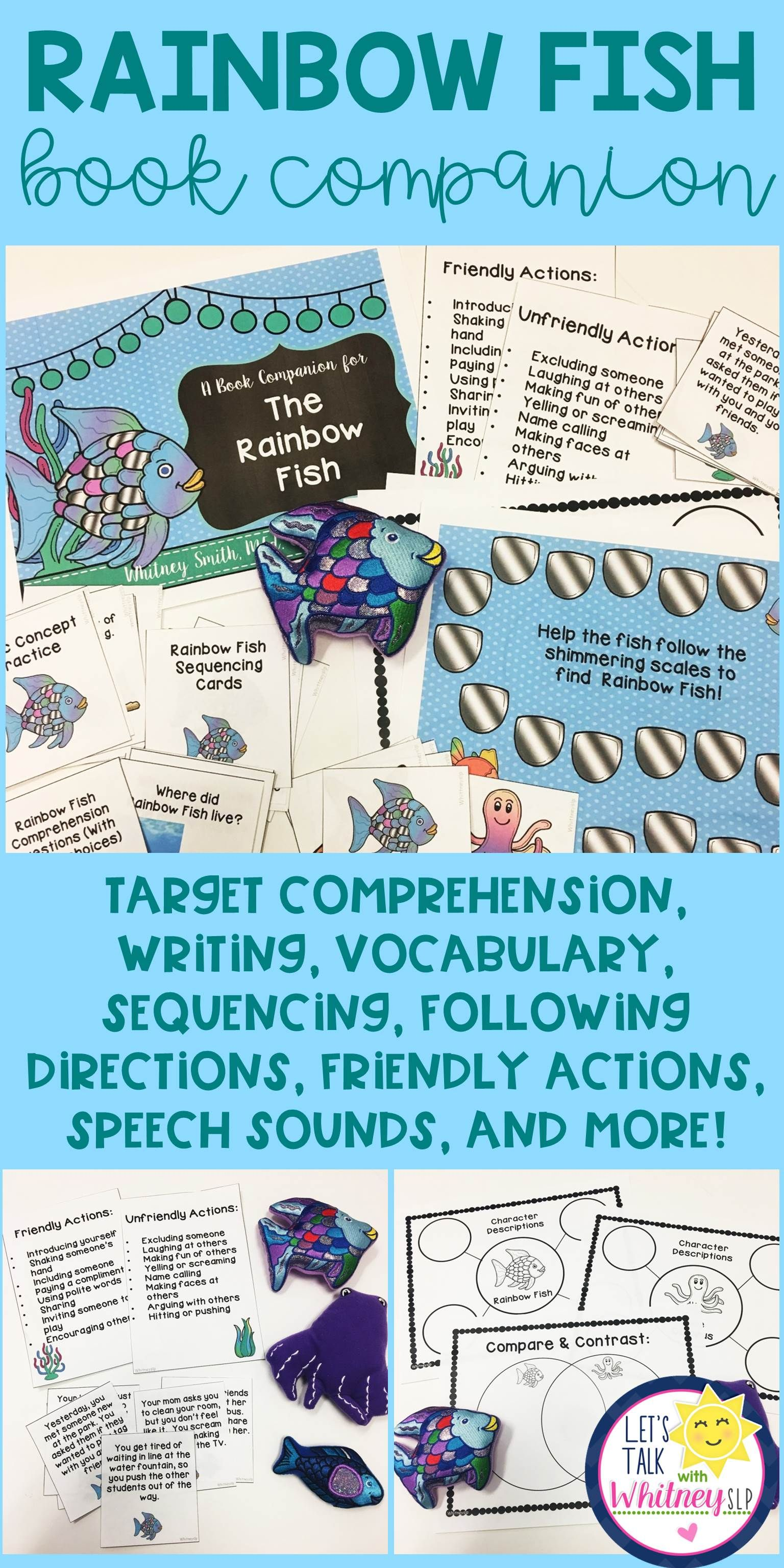 Rainbow Fish Story Book Companion