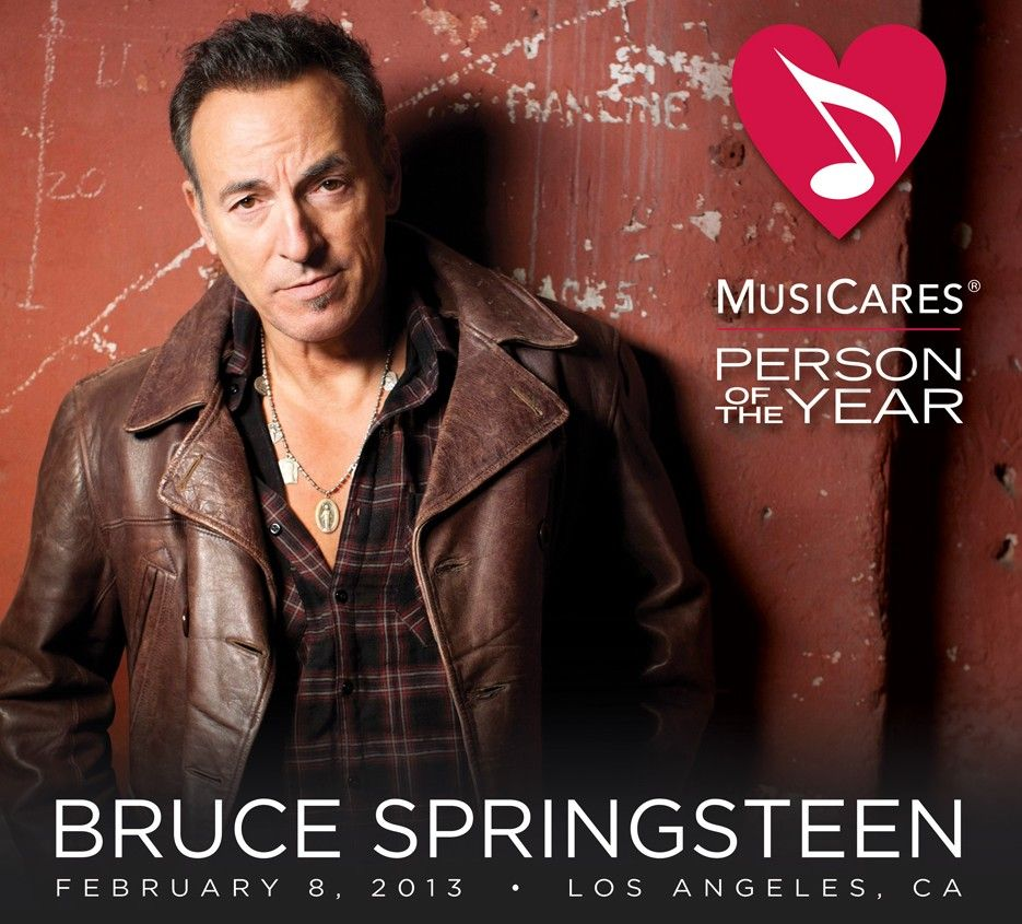 Set List Bruce Springsteen's MusiCares Person of the Year