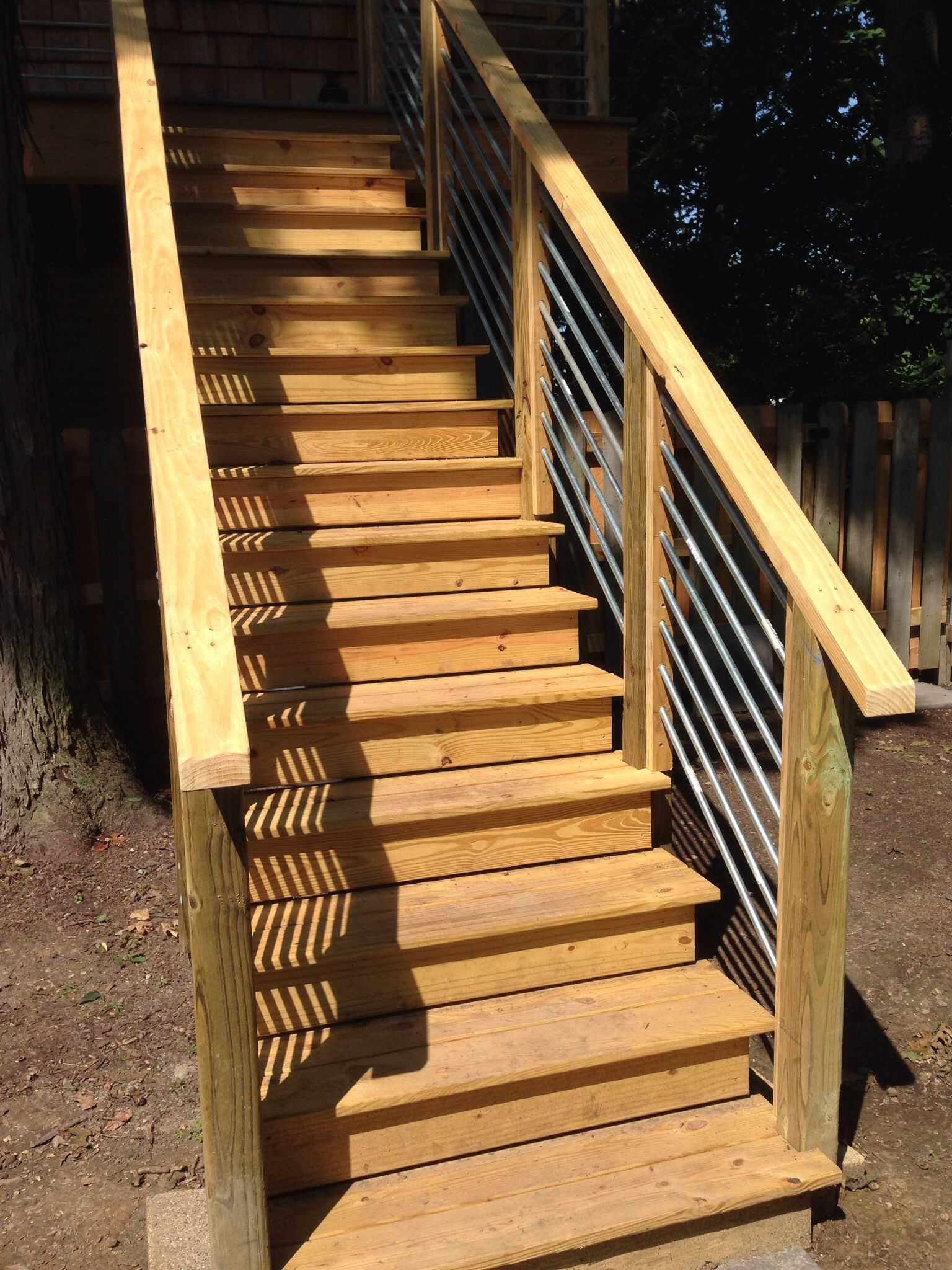 Best Stairway To The Coop Conduit Railing Can Imagine My 400 x 300