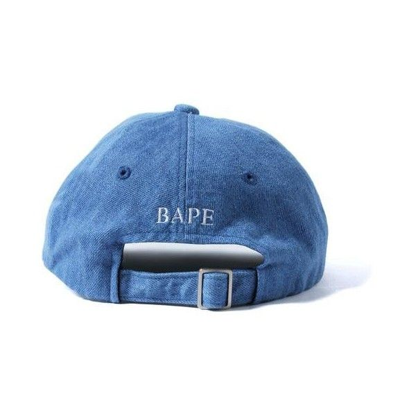 APE HEAD DENIM CAP MENS ($100) ❤ liked on Polyvore featuring men's fashion