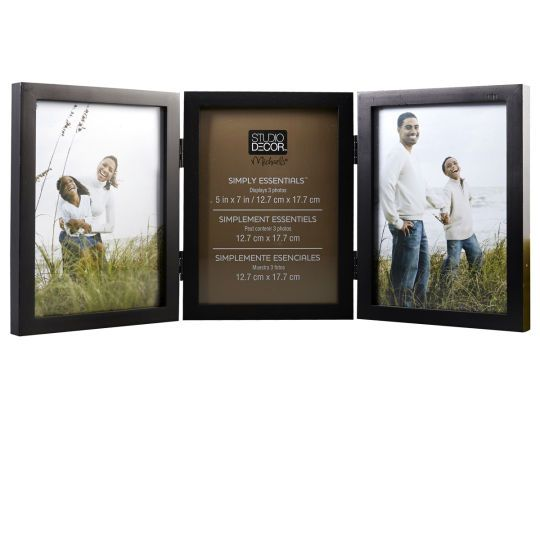 3 Opening Hinged Frame Simply Essentials By Studio Decor Studio Decor Hinged Frame Hinged Picture Frame