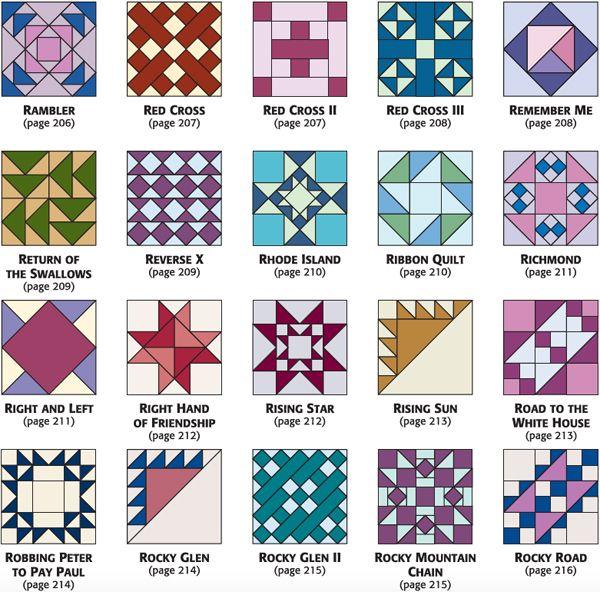 From 501 Rotary-Cut Quilt Blocks   Barn Ideas   Pinterest   Barn ... : quilt block templates - Adamdwight.com