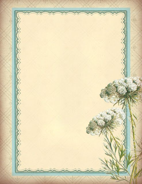 Lilac & Lavender ~ Floral Background Paper