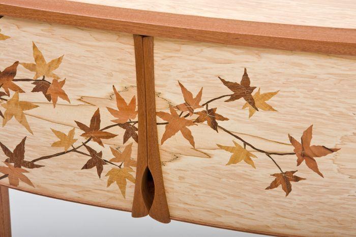 Japanese Maple Leaf Cabinet #japanesemaple