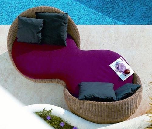 Rattan Garden Furniture Ideas - Design your balcony or garden with
