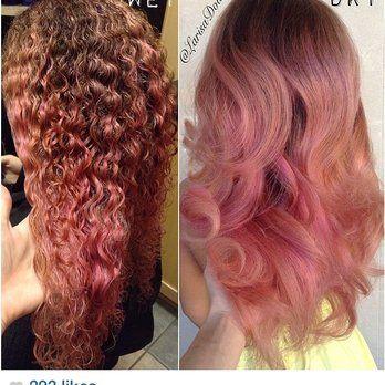 rose gold hair - google