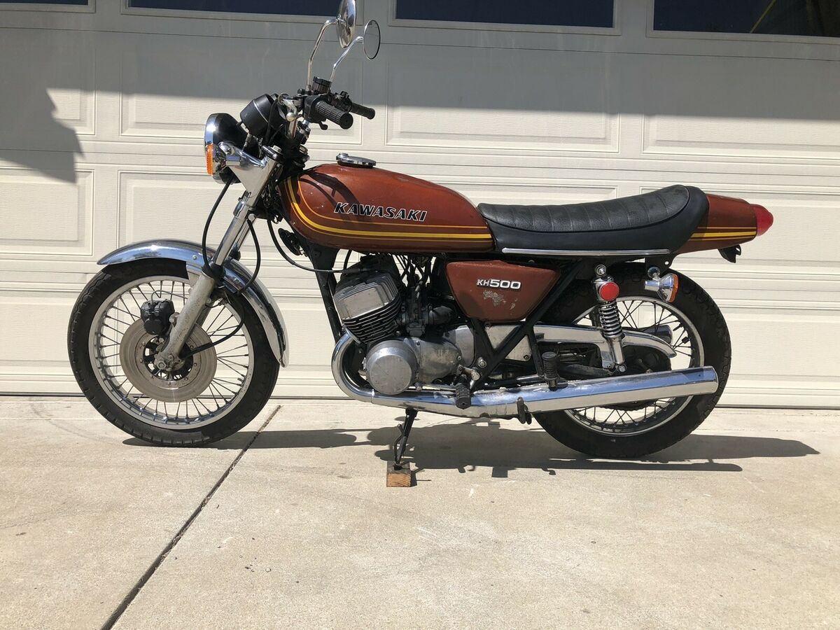 1975 Kawasaki Kh500 Projects Motorcycle For Sale Via Rocker