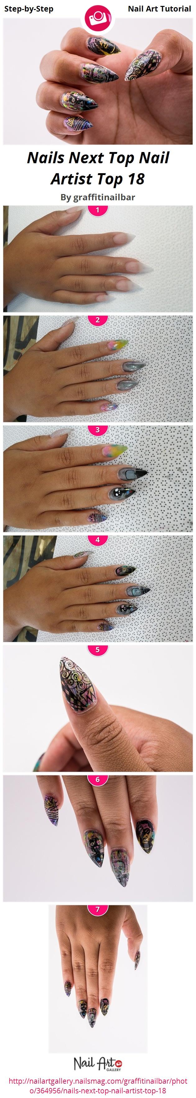 Nails Next Top Nail Artist Top 18 by graffitinailbar - Nail Art ...