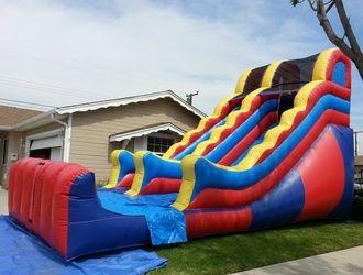 Inflatable Water Slide Rental Party Rentals Party Rentals Water Slide Rentals Inflatable Water Slide