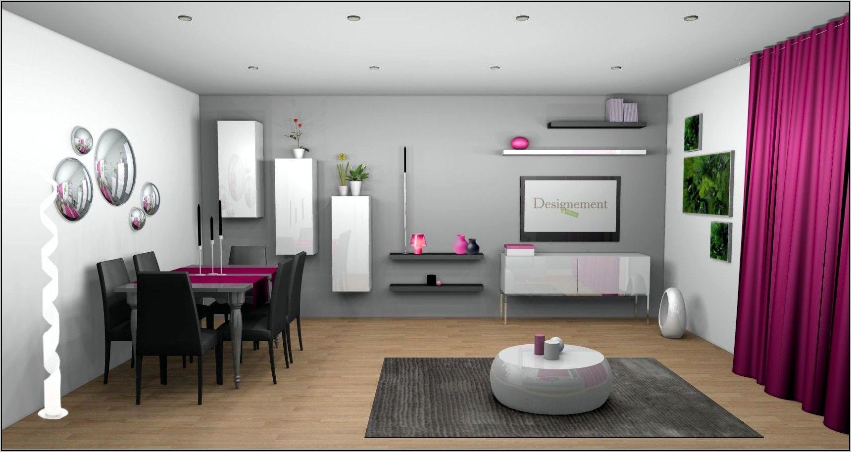 Deco Chambre En Noir Et Blanc Touche Rouge En 2020 Deco Maison