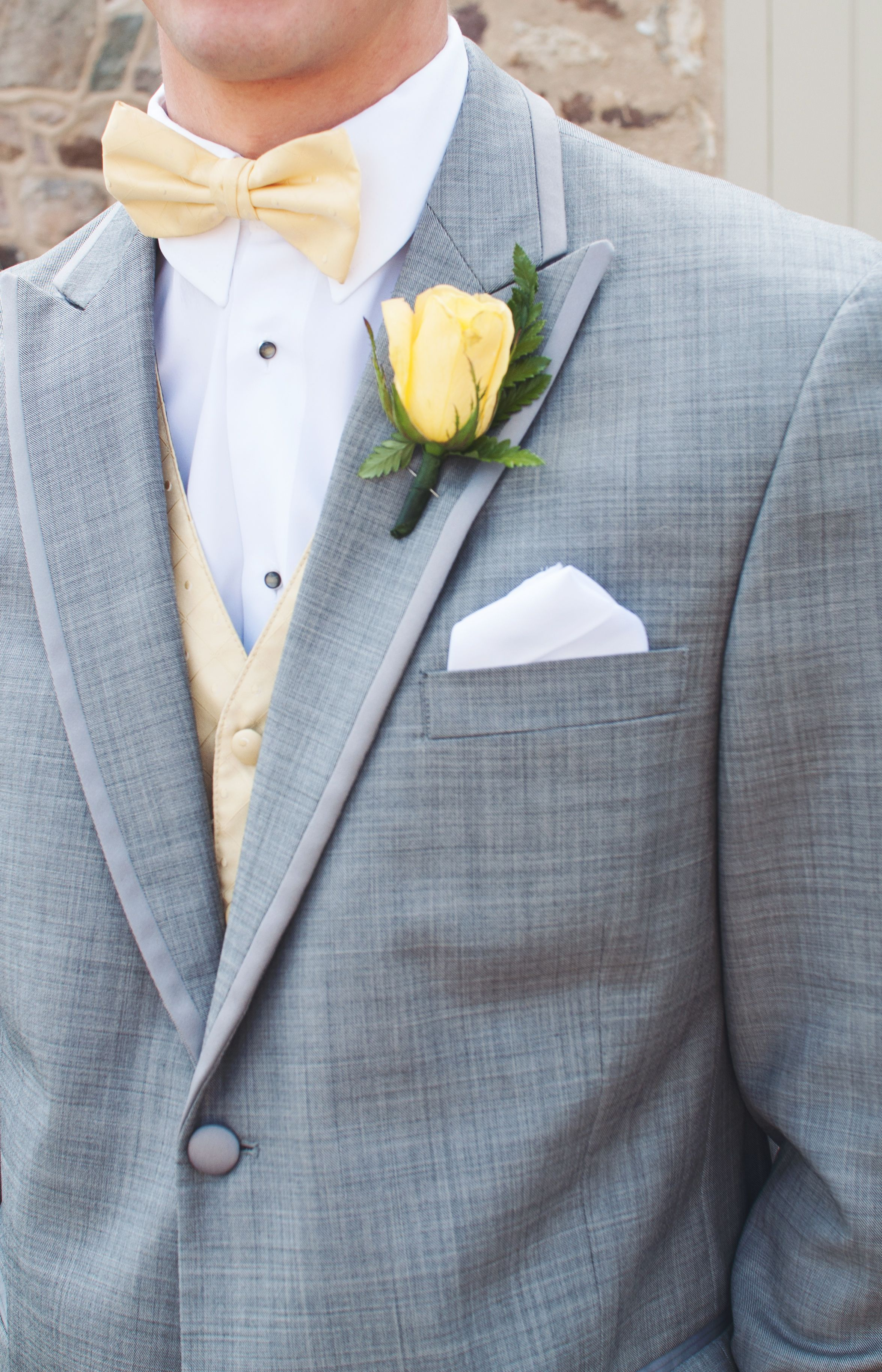 Pin By Merissa Saint Hinkle On Pictures Of Our Wedding Prom Dresses Yellow Yellow Prom Suit Prom Tuxedo [ 3652 x 2349 Pixel ]